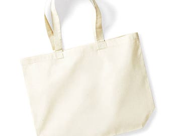 Large Tote Bag With Personalised Design Long Handles TBB001