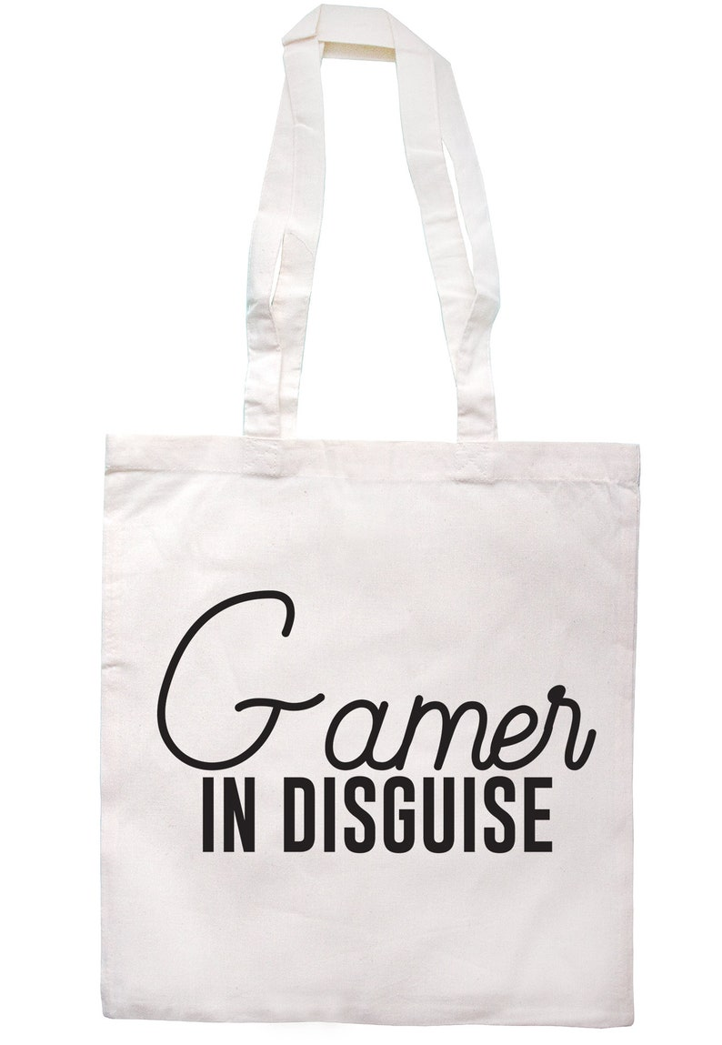 Gamer In Disguise Tote Bag Long Handles S0048