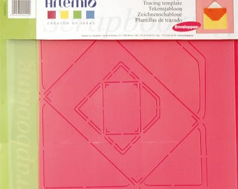 Tracing template - rectangular envelope