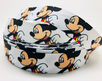 1 M Ribbon grosgrain mickey Minnie walt disney pacifier seam 22mm