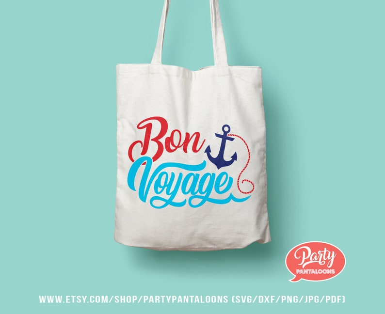 Iron on t-shirt vacation blogs etc adventurers Design for travelers mugs scrapbook Bon Voyage SVG wall art sublimation tote bag