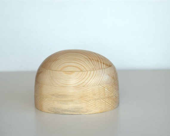 Hut Block Krone Kopf Form Holz Kopfform Hut Die Etsy