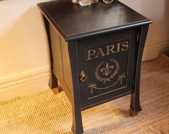 gorgeous  cabinet dark charcoal
