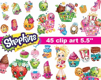 image about Free Printable Shopkins Food Labels referred to as Shopkins printable Etsy