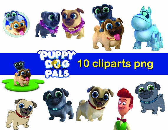 puppy dog pals characters