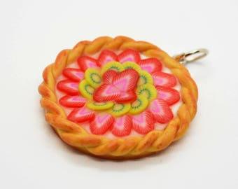 Pendant tart fruit (Strawberry kiwi)