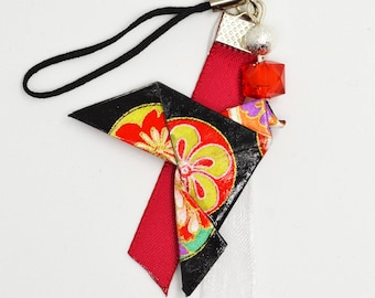 Accessory - Keychain - jewelry laptop Colombe Origami kimono patterns