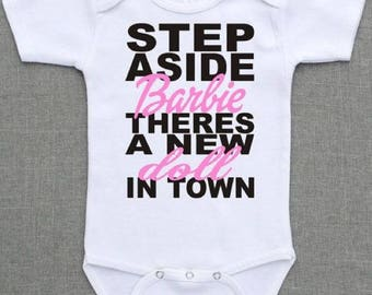 Custom made hand printed baby vest