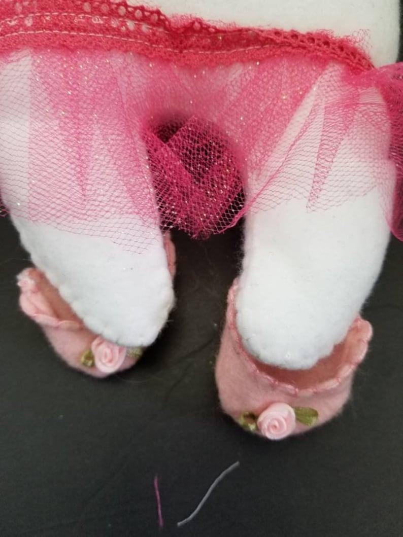 Pink, Ballerina Princess Tooth Fairy Pillow Doll