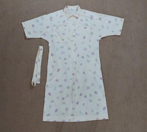 Vintage Marimekko 1980s Samba Shirt Dress