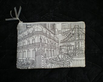 Small pouch, cosmetic case