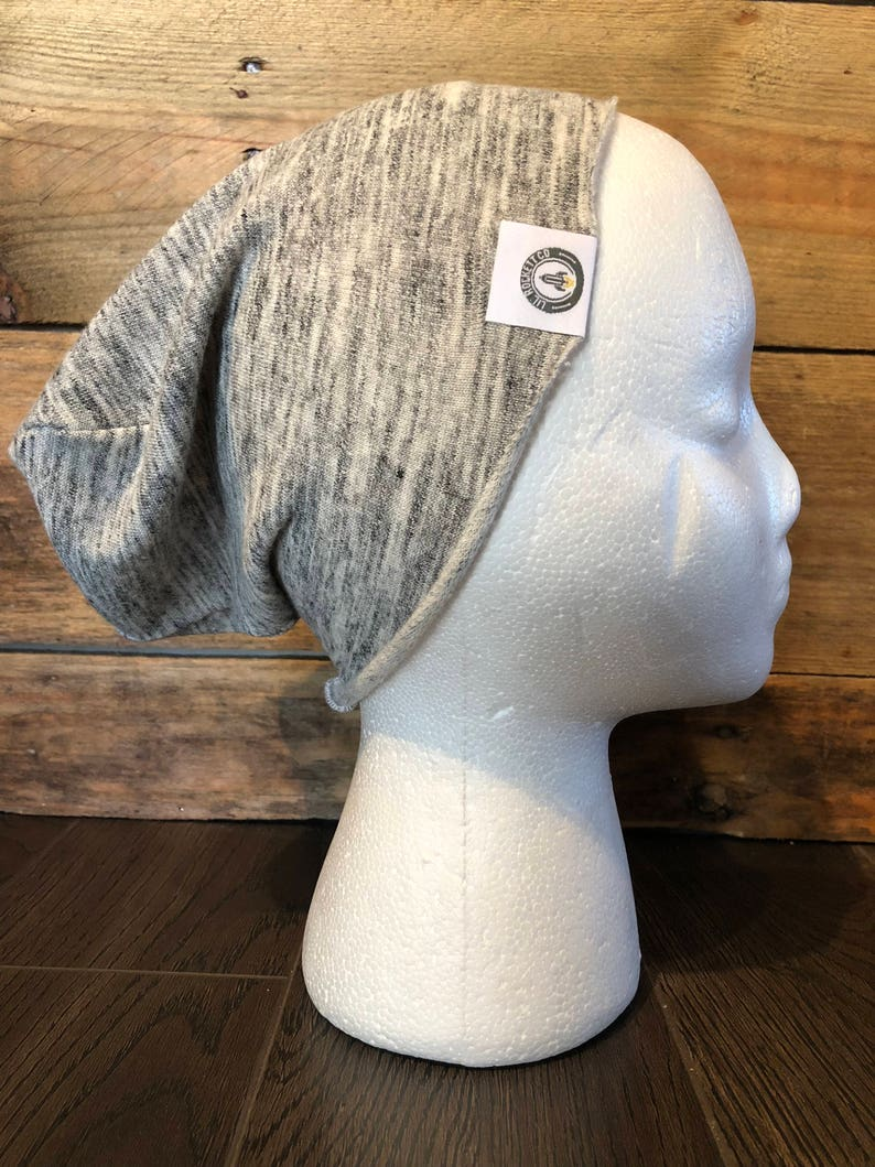 8f875030875 Slouch Beanie in Gray for Kids Lightweight Slouchy Hat