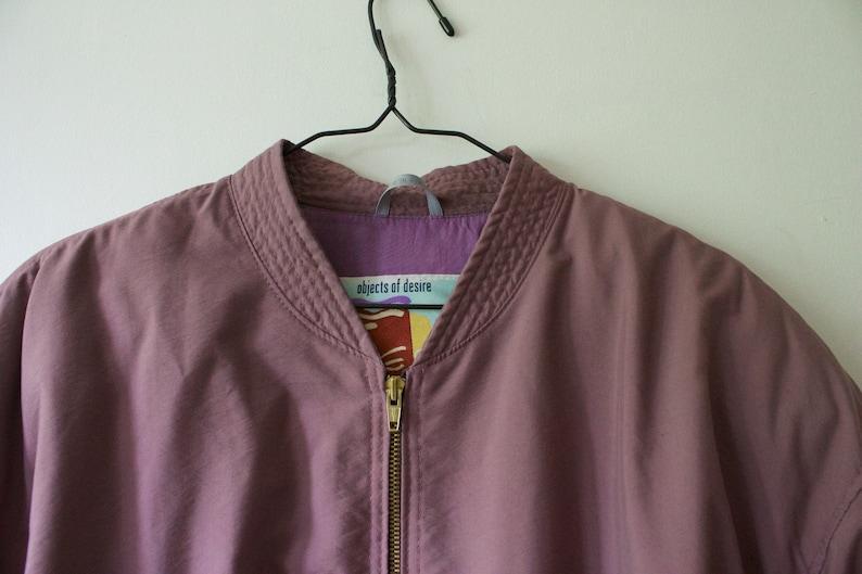 af15413b7 Vintage Men's Luhta Light Purple Bomber Jacket // Lightweight Zip Up Jacket  // 50 40 S M // 80s 90s Finnish Clothing // Made in Finland