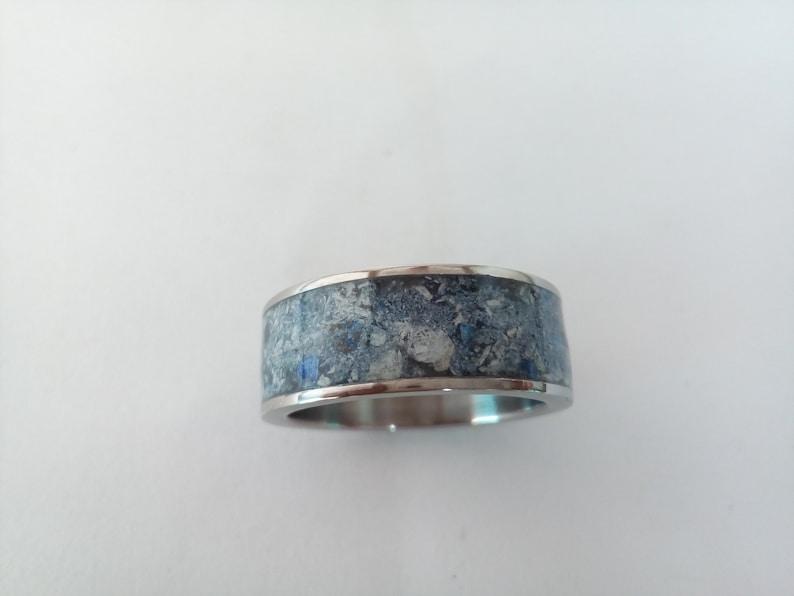 Mens Wedding Band Mens Wedding Ring Wedding Band Wedding Ring Mens Ring Ring Unique Wedding Ring Men/'s Wedding Ring Titanium Abulon ring