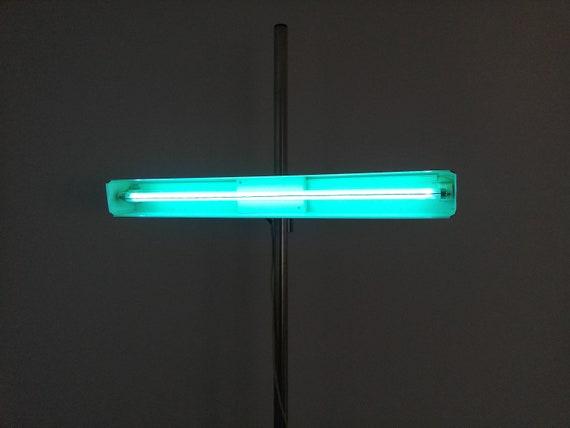 buy online efe1e 8a707 XXL Industrial Vintage Hospital/ Medicine Neon Tripod Floor Lamp