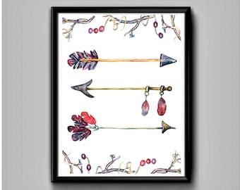 Arrows-Printable art-Arrow printable-Arrow print-Arrow printing-Arrow wall decor-Arrow wall art-Arrow art-Arrow art print-Arrow artwork