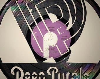 Deep Purple Vinyl Art-Wall Decor