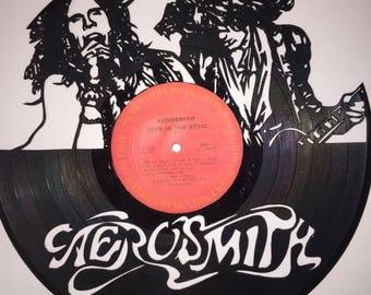 Aerosmith Vinyl Art-Wall Decor (W/Frame)