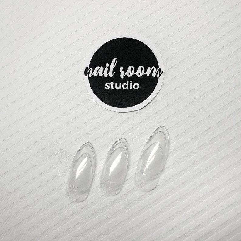 Thicker nails  Thick acrylic gel extra under layer  Sculpted image 0