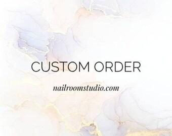 Custom listing for Steve 3D art and ombre