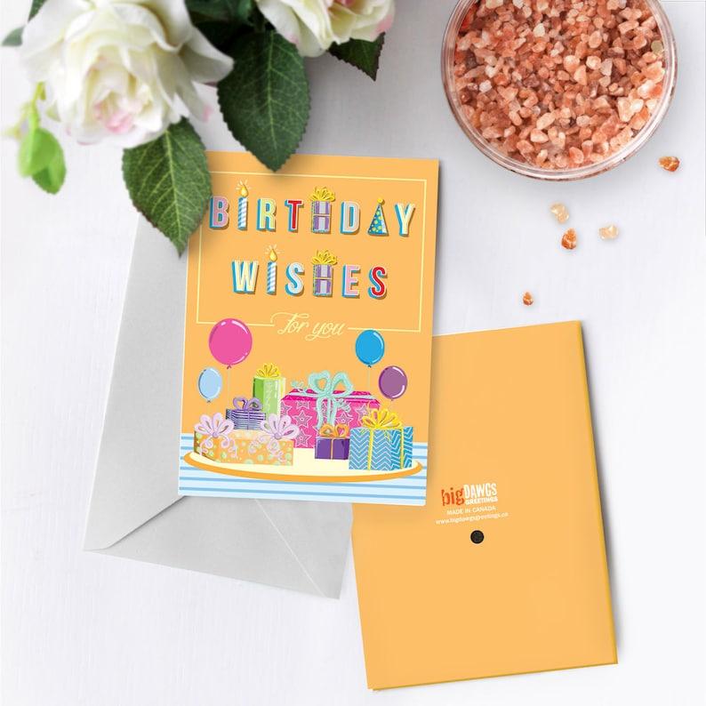 Birthday Wishes Greeting Card With Music Custom