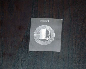 25 Pieces | Mifare Ultralight – NFC Transparent Tag (Dry Inlay) (48 bytes)