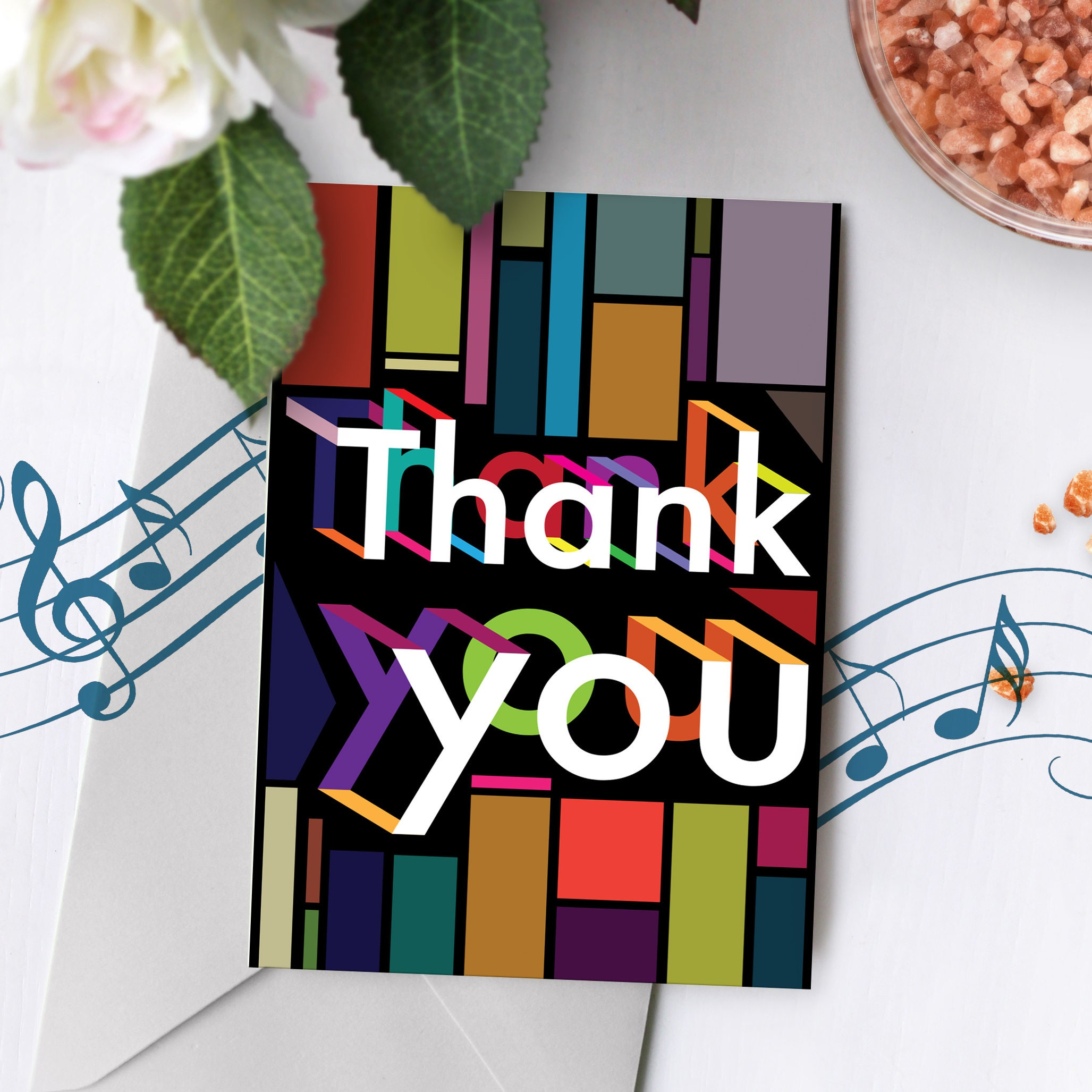 Recordable Thank You Greeting Card Recordable Greeting Card Etsy