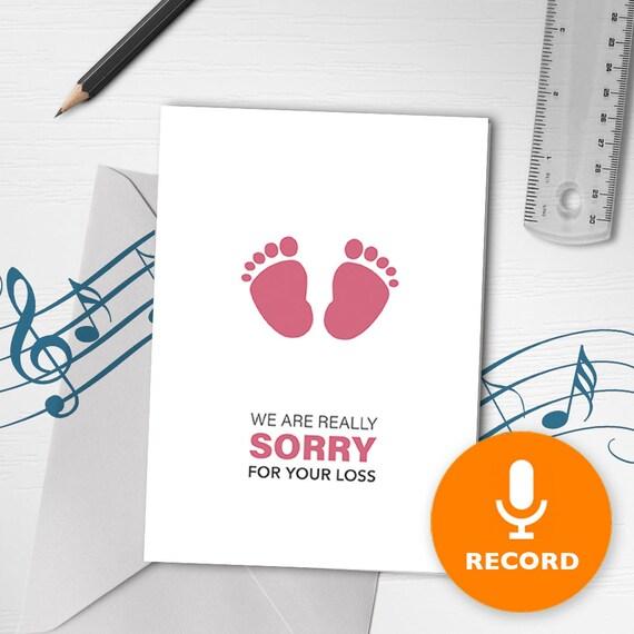 Carte De Vœux De Condoléances En Anglais Seulement Perte De La Carte De Vœux Musical Loved One Perte Dun Enfant Carte De Deuil Sonore Conquisable