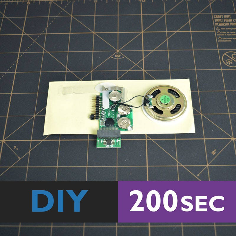 5 Pieces | DIY Greeting Card Module | For Sound Chip Module For | Greeting Card, Greeting Card Sound Chip | 200 Seconds DIY 60ef1f