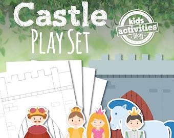 Printable Castle Play Set