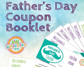 Father's Day Printable Coupon Book for Kids