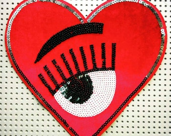 Eye heart you patch
