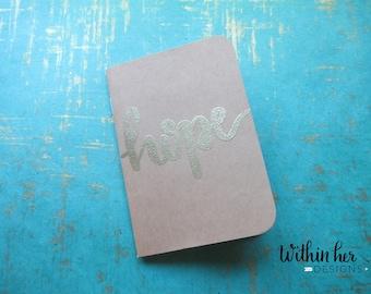 Positive Word Embossed Journal-Hope