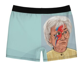 f84a0f5b2099 Golden Girls/David Bowie Boxer Briefs - Ziggy Stardust - Sophia Petrillo -  Underwear