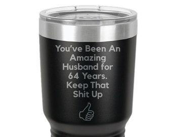 64 Oz Travel Mug Etsy