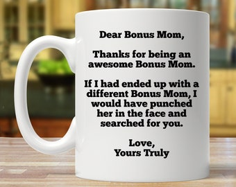 Gift For Bonus Mom Gifts Mothers Day Birthday Personalized Present Mug