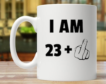 24th Birthday Gift Party Ideas Present Mug Funny 24 Year Old Years Mugs