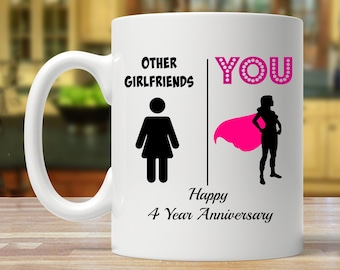 Four years together | Etsy