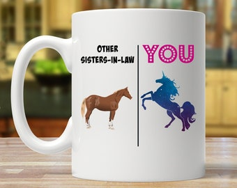 Sister In Law Gift For Mug Unicorn Lover Gifts Ideas