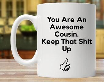Cousin Gift For Mug Funny Birthday Present Ideas Joke Gag