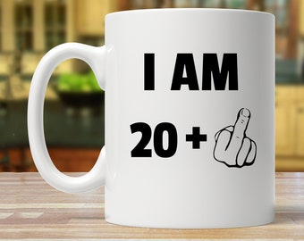 ab70193dc 21st birthday, 21st birthday gift, 21st birthday mug, funny 21 years old, twenty  one mugs, 21 years old gag gifts, 21st birthday party