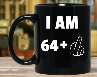 65th Birthday Gift Gifts For Women And Men Mug Funny 65 Year Old Sixty Five Party Mugs Years