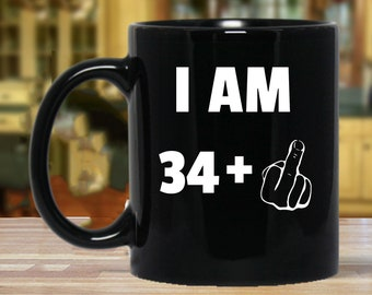 35th Birthday Gift Gifts For Women And Men Mug Funny 35 Year Old Thirty Five Party Mugs Years