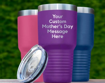 b4bf284af58 personalized mom gift, personalized mother's day gift, mother's day gift,  gift for mothers day, mom travel mug, custom mom tumbler, mom cup