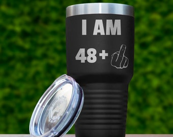49th Birthday Gift For Men Women Funny Ideas Gifts Him Her 49 Years Old Bday Tumbler Forty Nine Present