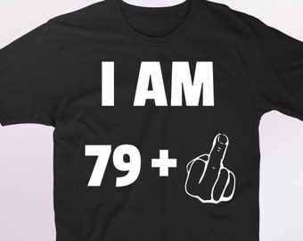 80th Birthday Gifts For Men And Women 80 Year Old Gift Funny Shirt Gag Joke T Shirts Bday Present Years Him Her
