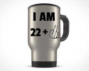 23rd Birthday Gift Travel Mug 23 Years Old Twenty Third Bday Ideas Present