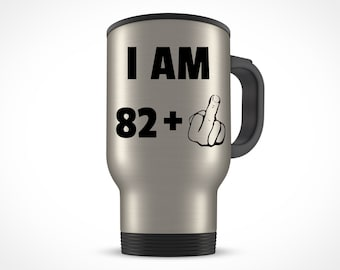 83rd Birthday Gift For Women Men Travel Mug Party 83 Year Old Ideas Him Her Bday Present