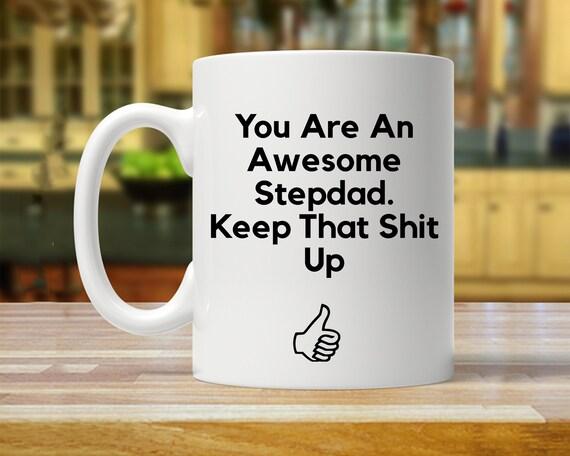 Stepdad Gift For Mug Funny