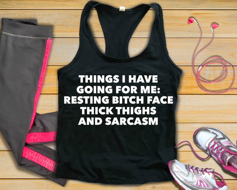 24bf8e7c1bda96 Sarcastic workout clothes funny workout shirt plus size